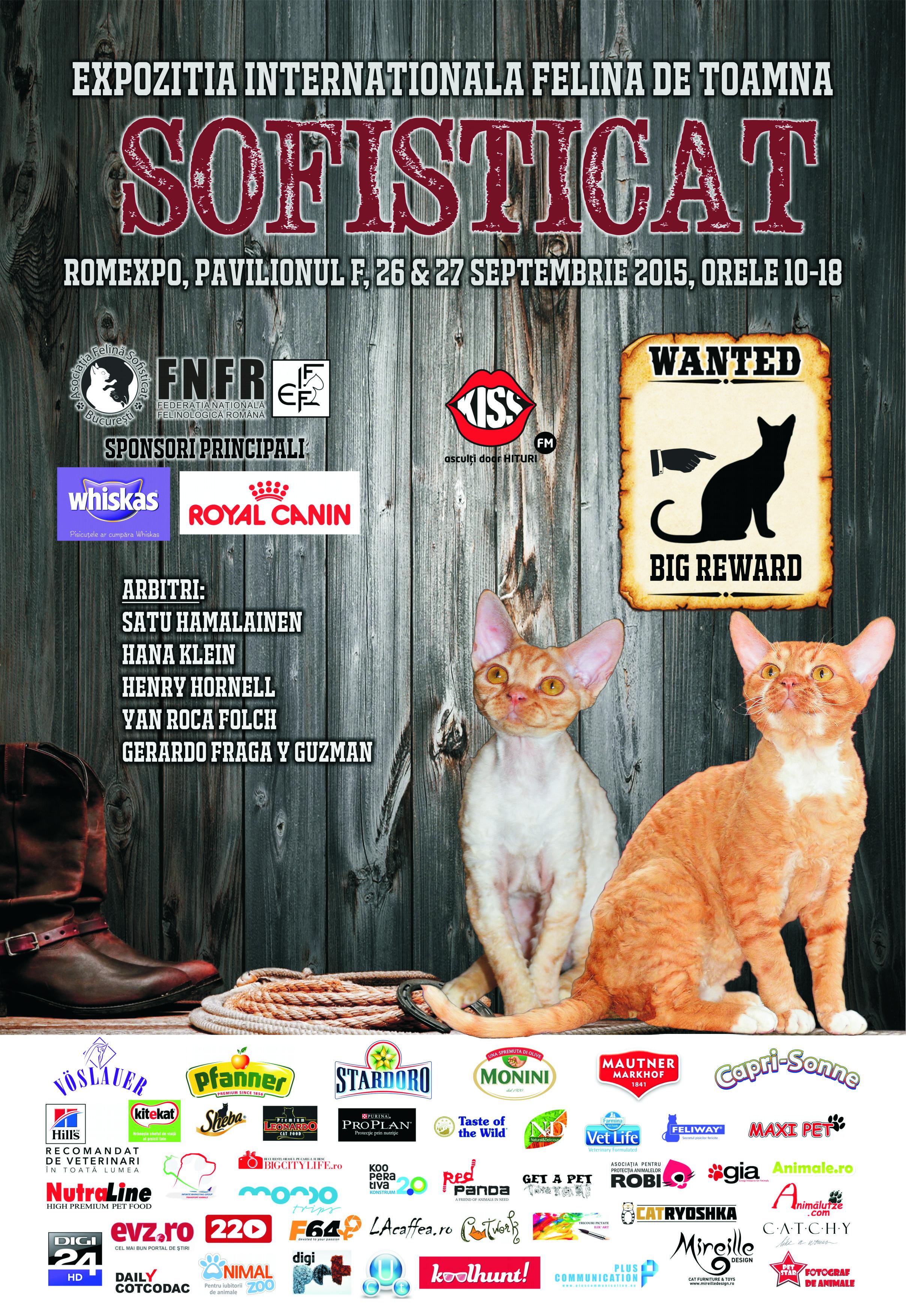 COMUNICAT DE PRESA - WESTERN cu pisici la ROMEXPO! - Agentia