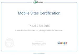 Certificare Adwords Mobile