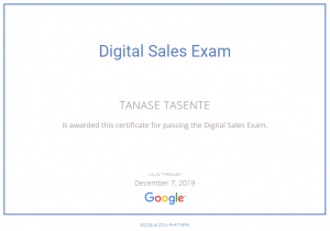 Google Digital Sales
