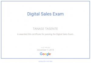 Google Digital Sales